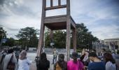 Muslimantët e Zvicrës dhe shqiptarë para OKB në Gjenevë: Jo krimeve në emër të Allahut!