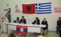 Përshëndetje e komisionit nismëtar të shoqatës 'Labëria' dega Athinë