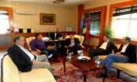 Kryetari Ahmeti priti në takimi kryetarin e Odës Ekonomike të Kosovës, Safet Gërxhaliun