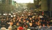 Demostrata më e madhe në Prishtinë