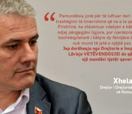 Drejtori i Inspeksionit, Xhelal Sveçla jep dorëheqje (Video)